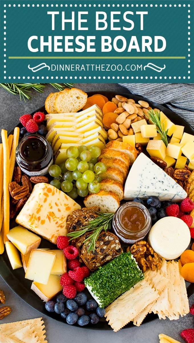 A guide to creating the best cheese board with a variety of different cheeses, crackers, fruit and accompaniments.