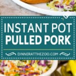 This Instant Pot pulled pork is chunks of meat coated in spices, then pressure cooked to tender and juicy perfection.